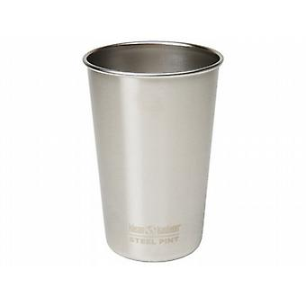 Klean Kanteen 473ml Stainless Steel Pint Cup (Brush Stainless)