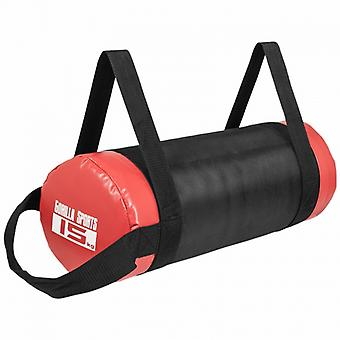 Fitness bag noir/rouge - Sac lest� 15kg