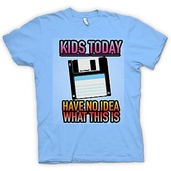 Mens t-shirt - bambini oggi ho Idea che cosa questo è - Floppy Disk