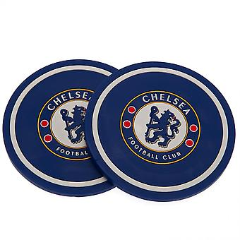 Chelsea FC Coaster Set (Pack Of 2)