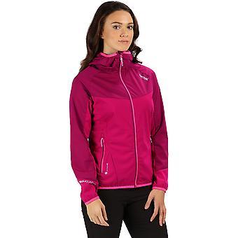 Regatta Womens Tarvos II Full Zip Hooded hög krage Fleece