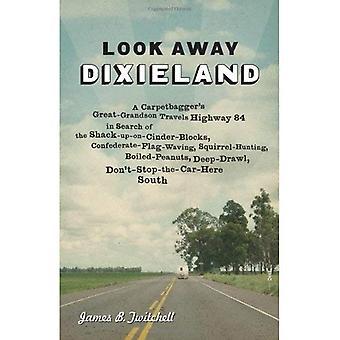 Coup d'oeil, Dixieland: Arrière-petit-fils voyages autoroute d'un Carpetbagger 84 à la recherche des cabane-Up-sur--parpaings, drapeau confédéré