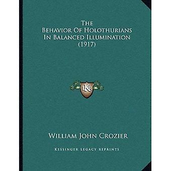 O comportamento de Holothurians em iluminação equilibrada (1917)