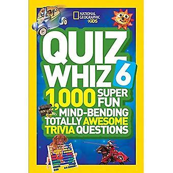 Quiz sausen Super Spaß 6: 1.000 kniffligen total genial Quiz-Fragen (National Geographic Kids)