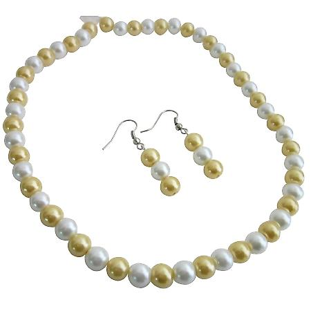 Affordable Inexpensive Nice Quality Jewelry Bright Gold & White