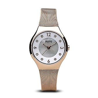 BERING Solar Analog Woman with stainless steel strap 14427-366