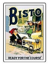 Bisto ''The Course'' Fridge Magnet     (hb)
