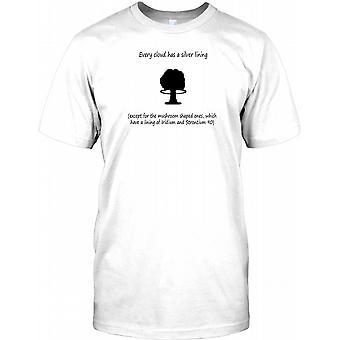 Hver Sky har Silver Lining - bortsett fra sopp seg Mens T-skjorte