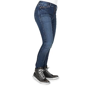 Bull-It Blue Tactical SP75 Slim - Short Womens Motorcycle Jeans