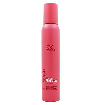 Wella INVIGO Brilliance Vitamin Conditioning Mousse 200 ml für coloriertes Haar