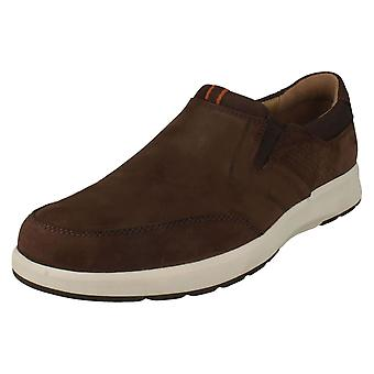 Mens Clarks Casual Slip On Trainers Un Trail Step
