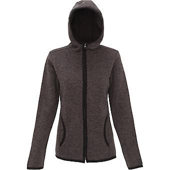 Outdoor Look Womens/Ladies Melange Hooded Fleece Jacket