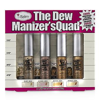 Thebalm The Dew Manizer's Quad (liquid Highlighters) - 4pcs