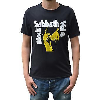 Amplified Black Sabbath Vol. 4 Black Crew Neck T-Shirt XXL
