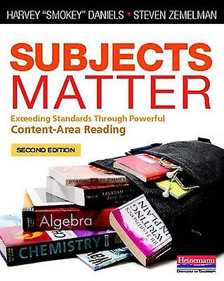 Subjects Matter - Exceeding Standards Through Powerful Content-Area Re