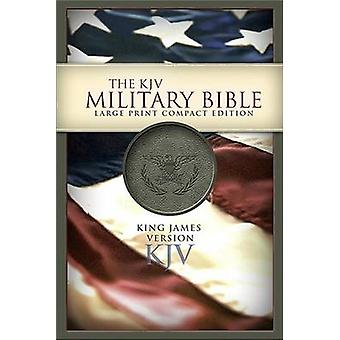 Military Bible-KJV-Large Print Compact (large type edition) by Holman