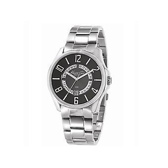 Kenneth Cole Gents Analogue Date Dial Bracelet Watch 50M Water Resistant KC3860