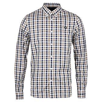 Fred Perry Herringbone Gingham Men's Long Sleeve Shirt M8290-671