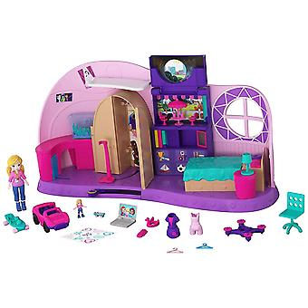Polly Pocket Polly's Go Tiny Room Playset