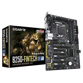 Gigabyte mining b250 fintech motherboard form atx chipset intel b250 socket h4-lga 1151