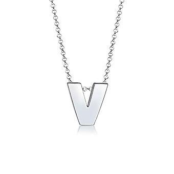 Elli Silber Anhänger Halskette 0108712517_45