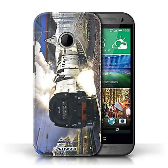 STUFF4 Case/Cover voor HTC One/1 Mini 2/Tangmere/stoom locomotief