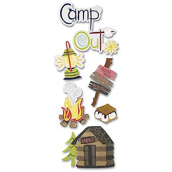 Touch Of Jolee's Dimensional Sticker Camping Spjj 146