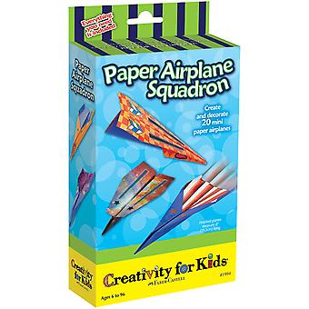Creativity For Kids Activity Kits Paper Airplane Squadron Makes 20 Ck 1994