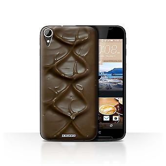 STUFF4 Case/Cover voor HTC Desire 830/Bar/rimpel/chocolade