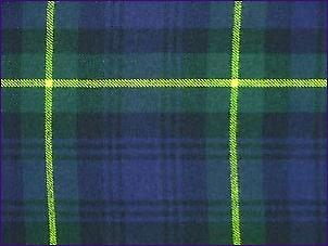 Gordon, Modern - Pure Wool Tartan