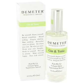 Gin and Tonic by Demeter Pick Me Up Cologne Spray 120ml
