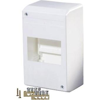 Switchboard cabinet Surface-mount No. of partitions = 4 No. of rows = 1 F-Tronic 7260013