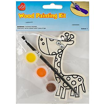 Wood Painting Kit-Giraffe 335-70-636