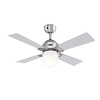 "Westinghouse Ceiling Fan SAXTON 105 cm / 42"" with light and remote control"