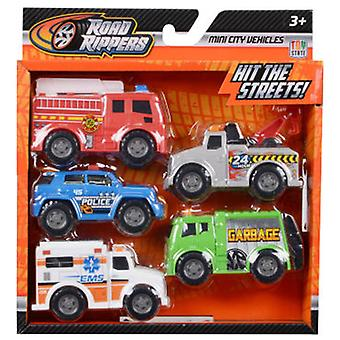 Road Rippers Mini Vehicle Service Pack 5 Rr