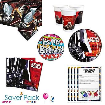 Star Wars Party servise Saver Pack