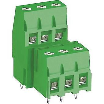 Screw terminal 3.30 mm² Number of pins 8 MB360-508M08 DECA Green 1 pc(s)