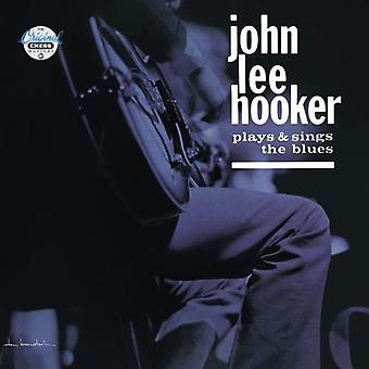 John Lee Hooker - spelar & sjunger Blues [CD] USA import