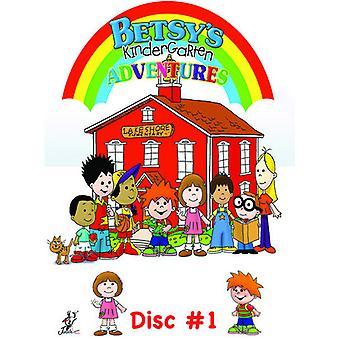 Betsys børnehave eventyr 1 [DVD] USA importerer