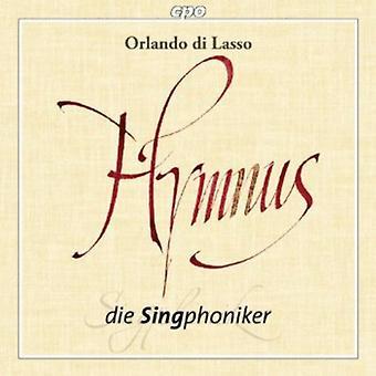 Orlando Di Lasso - Orlando Di Lasso: Hymnus [CD] USA import