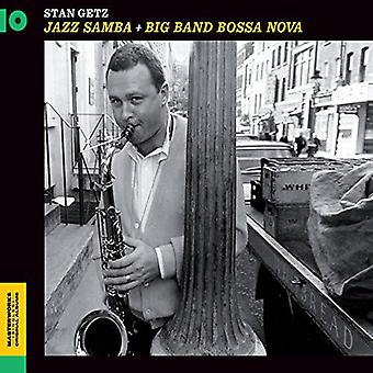 Stan Getz - Samba Jazz + Big Band Bossa Nova [CD] EUA importar