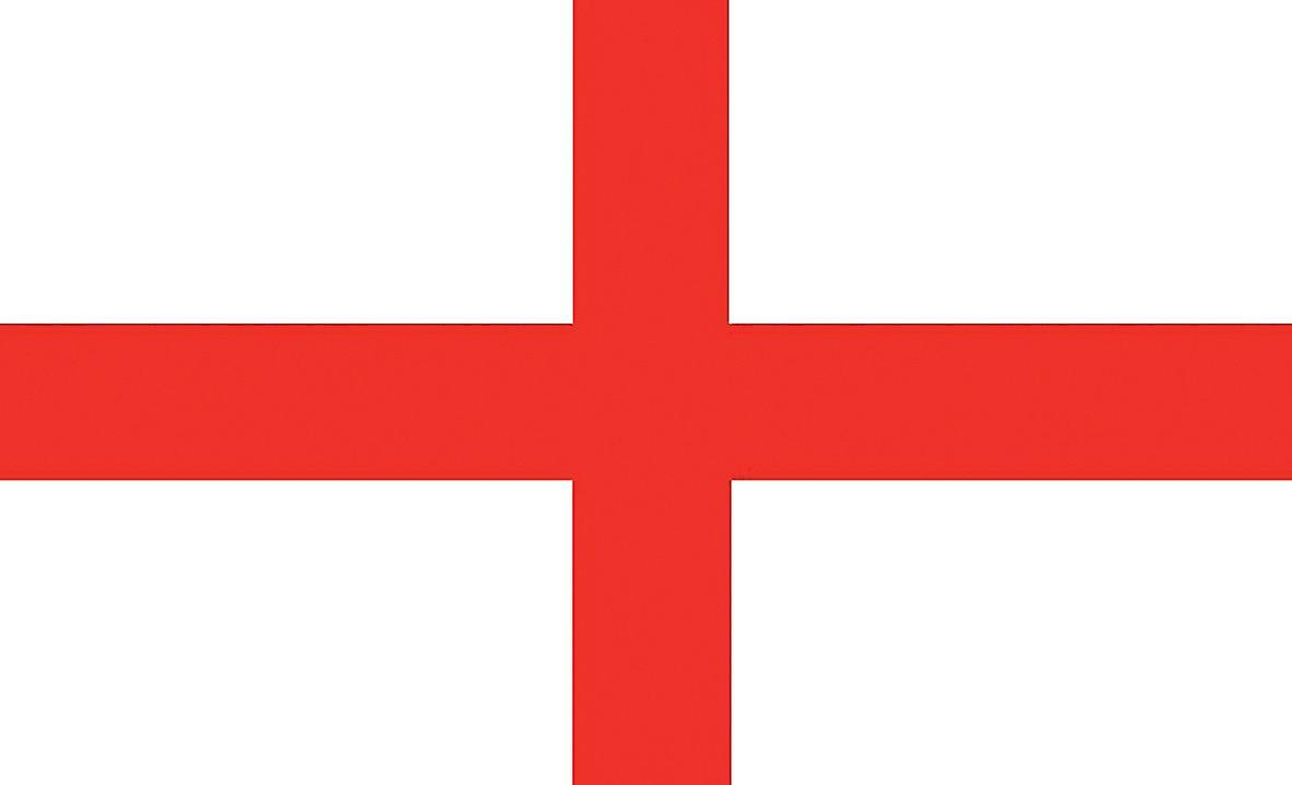 Large England St George Cross Flag Fruugo
