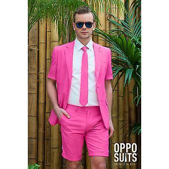 6b0ec73301432 Pan różowy letni garnitur Summersuit slimline męskie rozmiary premium 3- częściowy