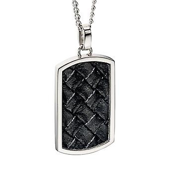 Stainless Steel Fashionable Leather Necklace
