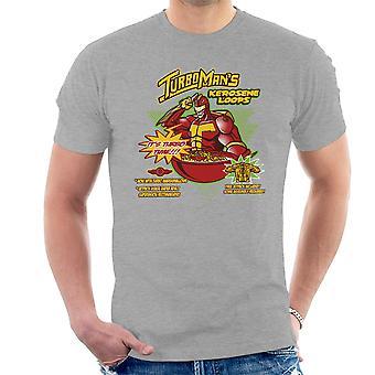 Kerosene Loops Turbo Man Jingle All The Way Cereal Men's T-Shirt