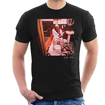 Biz reklame skriftligt på Toilet mænd T-Shirt