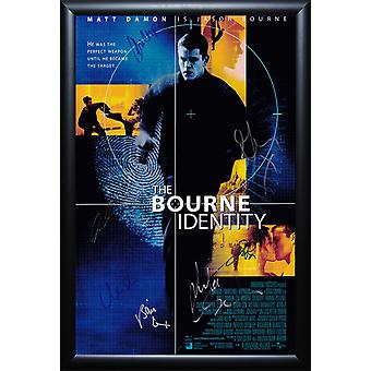 The Bourne Identity - Signed Movie Poster