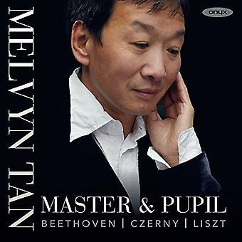 Master & elev / Melvyn Tan - værker af Beethoven Czerny & Liszt [CD] USA import