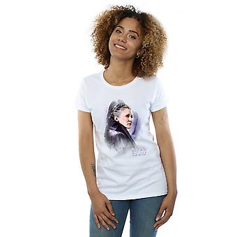 Star Wars Women's The Last Jedi Leia Brushed T-Shirt