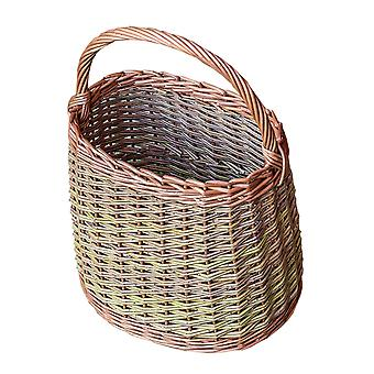 Wicker Orchard Collecting Basket